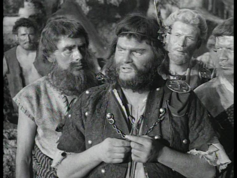 Fred Wood 2nd left (with Beard)
